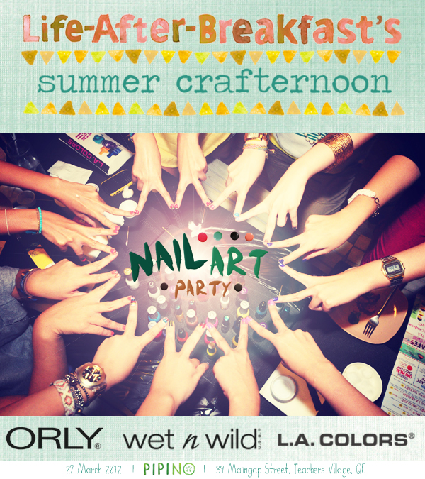 Summer Crafternoon: Nail Art Party! – Life After Breakfast