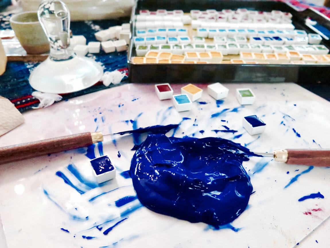 Handmade Watercolors Workshop by Alessandra Lanot